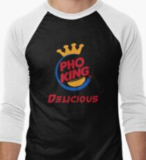 Pho King Delicious Men's Baseball ¾ T-Shirt