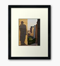 Protective Shadow Framed Print