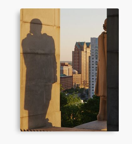 Protective Shadow Canvas Print