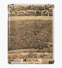 Map Of Moncton 1888 iPad Case/Skin