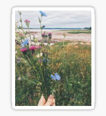 Flowers by the Bay Sticker