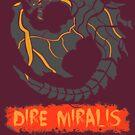 The Circular Smelting Black Dragon by drakenwrath