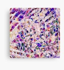 Paperclip Abstract - Another Glorious Day at the Office Canvas Print