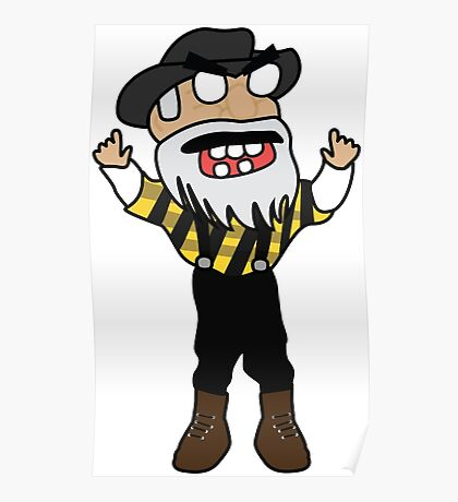 angry zombie yosef Poster
