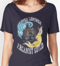 Arcanist Guild FFXIV  Women's Relaxed Fit T-Shirt
