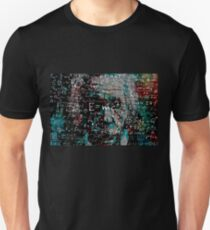 Abstrakter Einstein Unisex T-Shirt