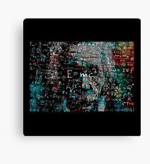 Abstract Einstein Canvas Print