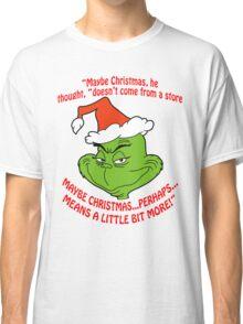 Grinch Funny Classic T-Shirt