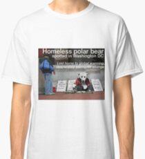Homeless Polar Bear Classic T-Shirt