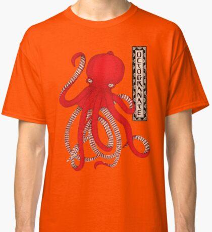 Pomegranate Octopus Octogranate Classic T-Shirt