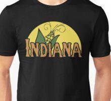 Indiana Retro Logo Unisex T-Shirt