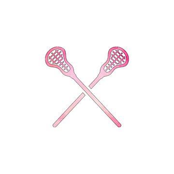 Lacrosse-Stock-Rosa von hcohen2000