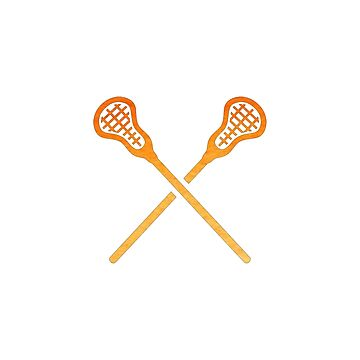 Lacrosse-Stock-Orange von hcohen2000