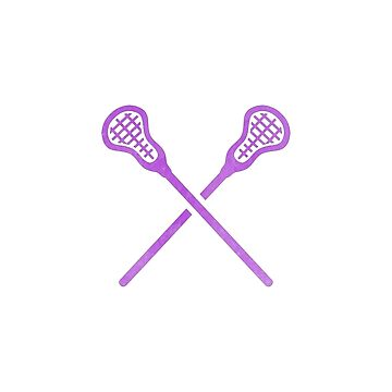 Lacrosse Stick Lila von hcohen2000