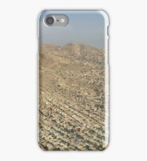 US Army Blackhawk Helicopter over Kabul Afghanistan  iPhone Case/Skin