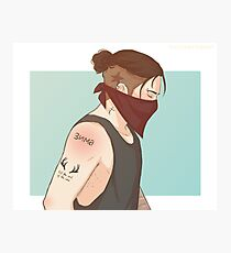 Punk Bucky Photographic Print