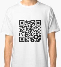 Rickroll QR Code Classic T-Shirt