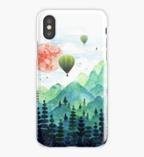 Roundscape iPhone Case