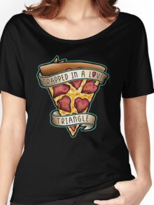 Trapped T-shirt femme coupe relax