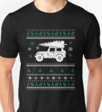 Christmas - Jeep Ugly Christmas Unisex T-Shirt