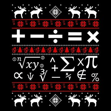 Christmas - Math Ugly Christmas by dianewhitten