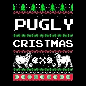 Christmas - Pugly Christmas by dianewhitten