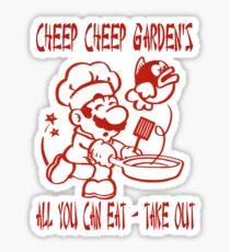 Cheep Cheep Garden's Sticker