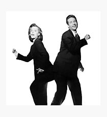 X Files // They boogie Photographic Print