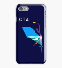 Abstract CTA Train Lines iPhone Case/Skin