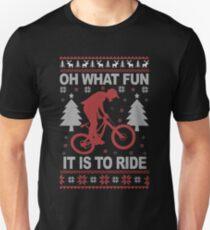 Christmas - Mountain Bike Ugly Christmas T-Shirt