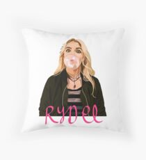 Rydel Lynch Bubblegum Throw Pillow
