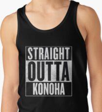 Straight Outta Konoha Tank Top