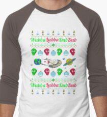 A Wubba Lubba X-mas Men's Baseball ¾ T-Shirt