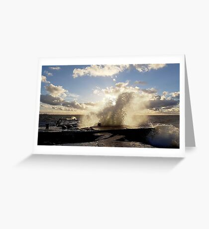 Stormy start to October Greeting Card