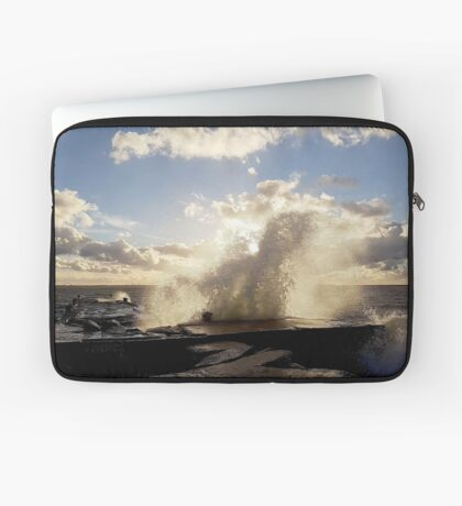 Stormy start to October Laptop Sleeve