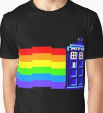 nyan tardis Graphic T-Shirt