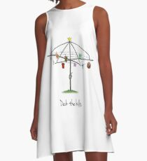 DECK THE HILLS - LAUNDRY EDITION A-Line Dress