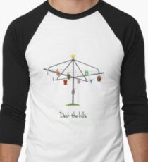 DECK THE HILLS - LAUNDRY EDITION Men's Baseball ¾ T-Shirt