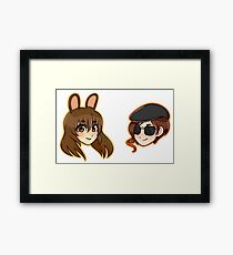 Crosshares Framed Print