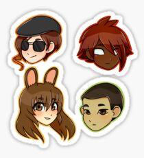 Team Cfvy Sticker
