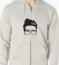 Joey Graceffa SIlhouette Head Zipped Hoodie