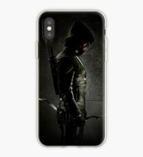 Vinilo o funda para iPhone Arrow CW Oliver Queen