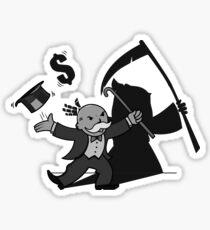 Death Money Sticker