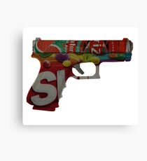 Armed and Dangerous Canvas Print