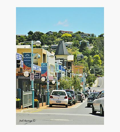 Burnie by the Sea Photographic Print