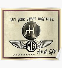 MG Shift & Go Poster