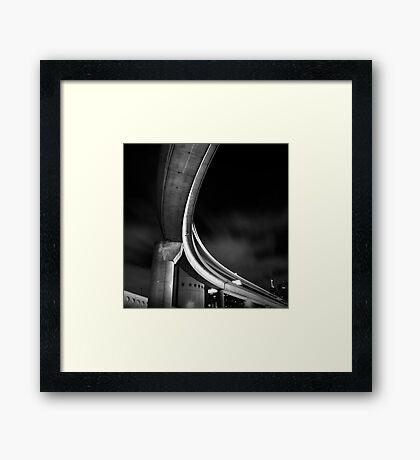 Sweeping Framed Print