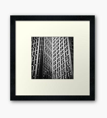 Convergence Framed Print