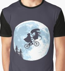 E.T. the Extra-Terrestrial - Xenomorph Graphic T-Shirt
