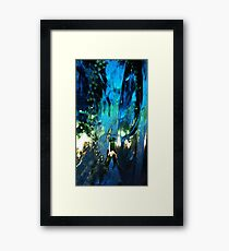 Abstract print, nature Framed Print